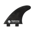 Tripstix recyceled Carbon Fins Thruster FCS 1