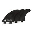 Tripstix recyceled Carbon Fins Thruster FCS 1set